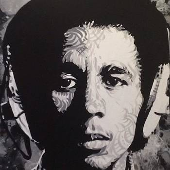 Bob Marley.  Just Finished One Of My by Ocean Clark