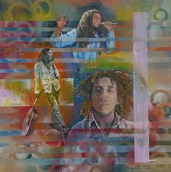 Bob Marley by Reuben Cheatem