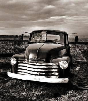 Bob's Truck in Sepia by Julie Dant