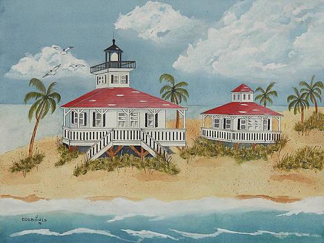 Boca Grande Lighthouse by John Edebohls