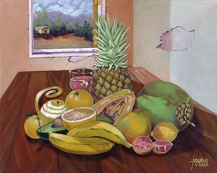 Bodegon Tropical by Alfredo Ocasio