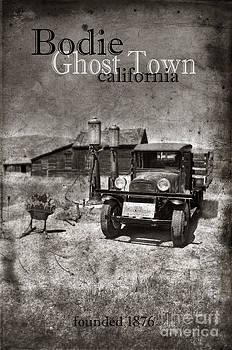 Jill Battaglia - Bodie Ghost Town Black and White