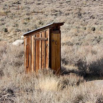 Bodie Outhouse by Art Block Collections