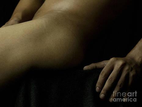 Body Art Reclined Male I by Brian Joseph