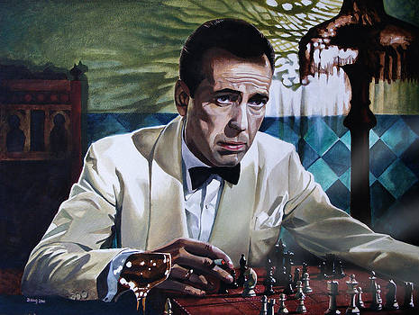 Bogart - Casablanca by Jo King