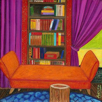 Bohemian Library by Adelita Pandini