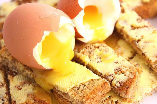 Simon Bratt Photography LRPS - Boiled eggs on buttered toast