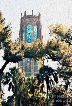 Bok Singing Canopy Tower by Ecinja Art Works