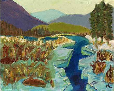 Bold Blue Creek by Mary LaFever