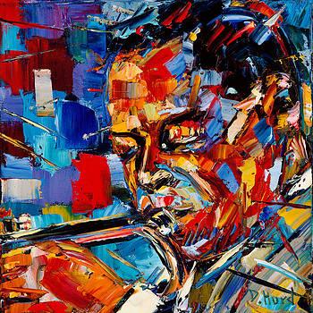 Bold Jazz Series Miles Davis by Debra Hurd