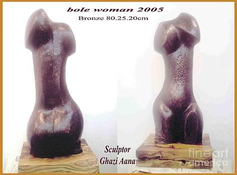 Bole Woman by Ghazi Aana