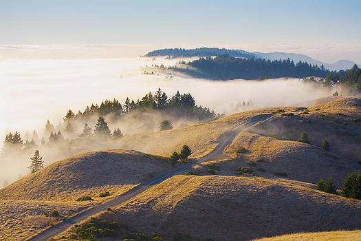 Bolinas Ridge Sunset by Michael Fahey