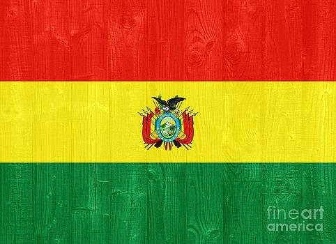 Bolivia flag by Luis Alvarenga