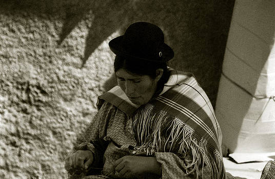 Bolivian Woman by Amarildo Correa