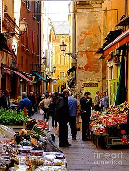 Bologna Market Day by Heather Nel