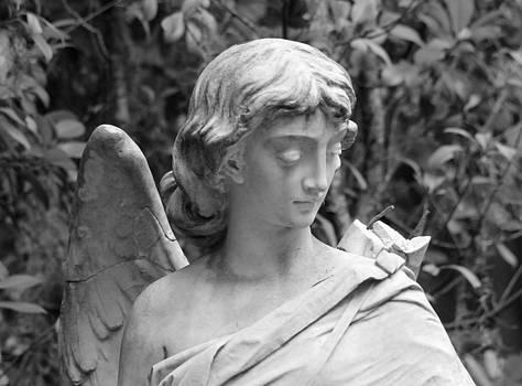 Bonaventure Angels Series - Clipped Wing BW by Kay Mathews