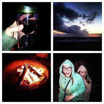 Bonfire At The Beach, Getting My #oya by Stacy C