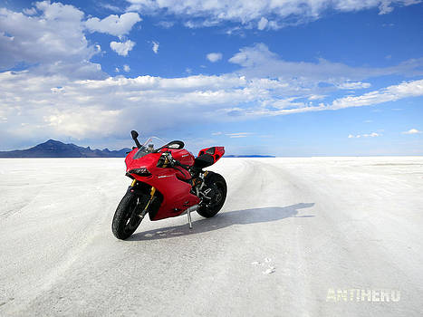 Bonneville Salt Flats 3 by AntiHero Panigale
