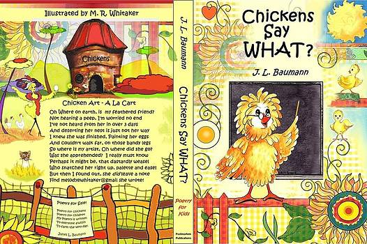 Book Cover Chickens Say WHAT? by Melodye Whitaker