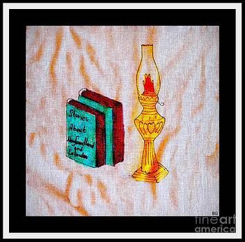 Barbara Griffin - Books and a Kerosene Lamp