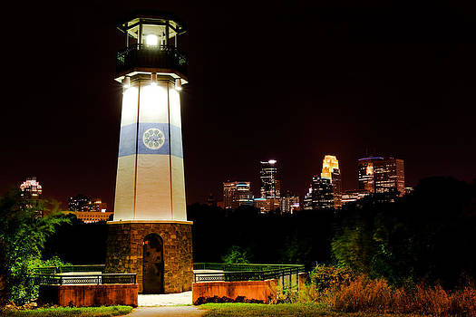 Boom Island Lighthouse by Chris Coward
