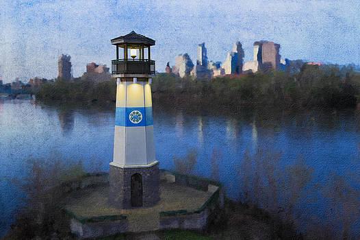Boom Island Minneapolis by Saibal Ghosh