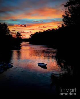 Brenda Giasson - Boothbay Harbor Sunset