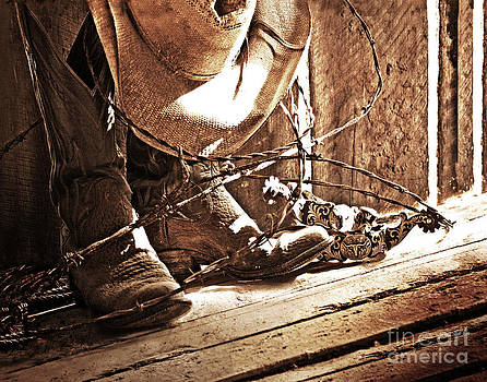 Boots And Spurs by Pam Carter