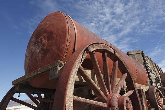 Susan Rovira - Borax Wagon Death  Valley