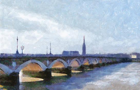 Bishopston Fine Art - Bordeaux le Pont Pierre