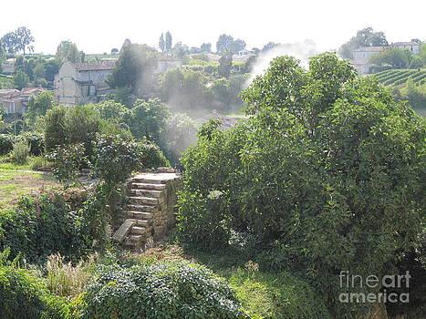 Bordeaux village cloud of smoke  by HEVi FineArt