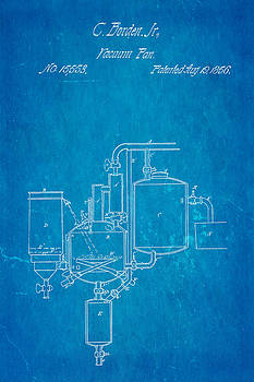 Ian Monk - Borden Condensed Milk Patent Art 1856 Blueprint
