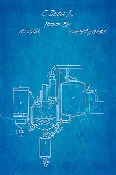 Ian Monk - Borden Condensed Milk Patent Art 1856 Blueprint