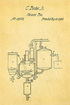 Ian Monk - Borden Condensed Milk Patent Art 1856