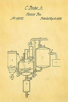 Ian Monk - Borden Condensed Milk Patent Art 1856