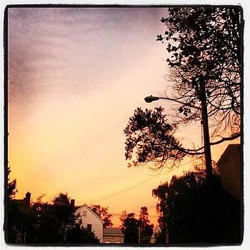 Bordentown Sunset by Deirdre Ryan