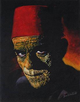 Boris Karloff as - The Mummy by Diane Bombshelter