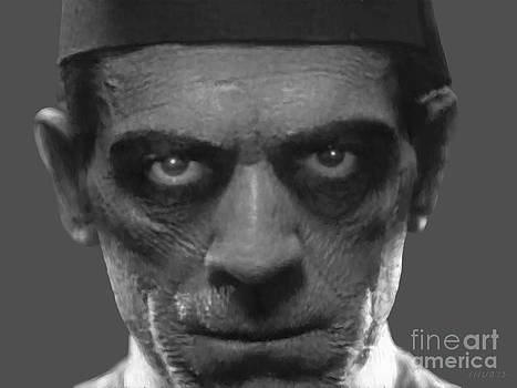 Boris Karloff as The Mummy by Stephen Shub