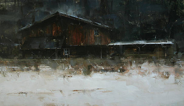 Born in the Woods by Tibor Nagy