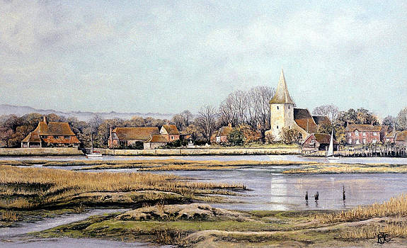 Bosham Harbour by Rosemary Colyer