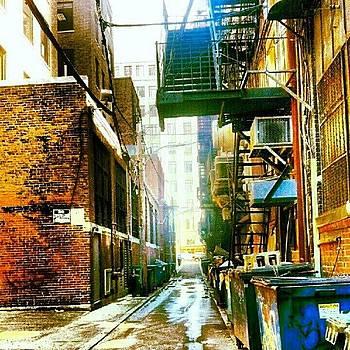 #boston #alley #instagramboston by James Hamilton