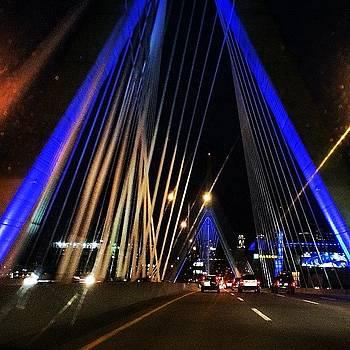 #boston #beantown #zakim #pride #ma by Crystal Duncanson