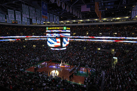 Juergen Roth - Boston Celtics Under The Star Spangled Banner
