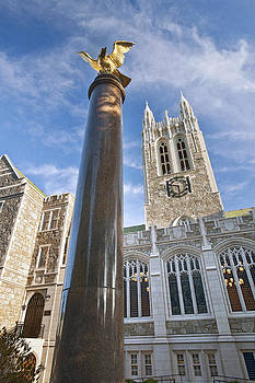 Boston College Gasson Hall by Replay Photos