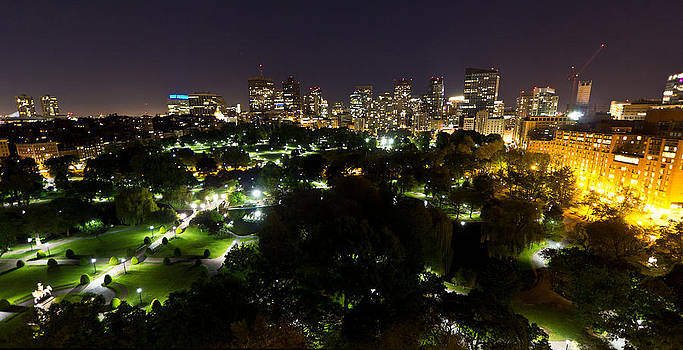 Boston Common and Beyond by Corey Sheehan