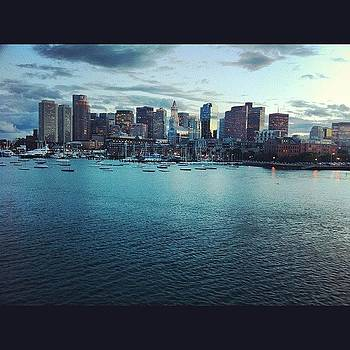 Boston From A Boat by Corey Sheehan