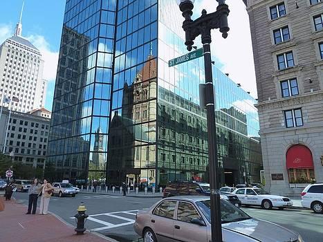 Boston Hancock Tower by Merridy Jeffery