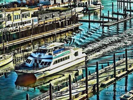 Boston Harbor Express by Jeff Breiman