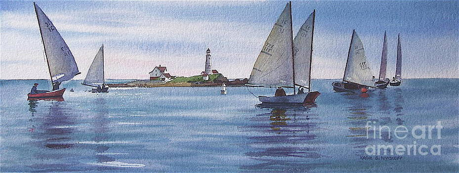 Karol Wyckoff - BOSTON HARBOR SPRING SAIL