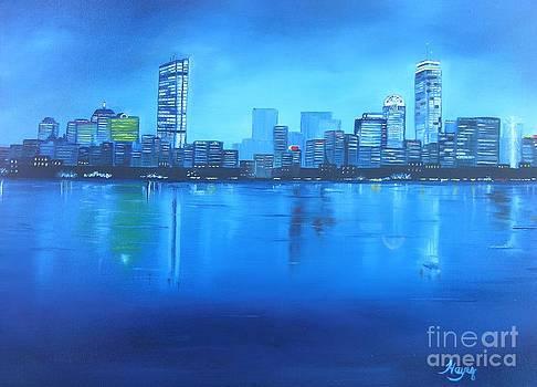 Boston III by Barbara Hayes